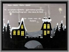 Merry Christmas - Frohes Fest - Felices Fiestas - Joyeuse Fêtes - Felices Festas