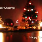 Merry Christmas + Happy New Year