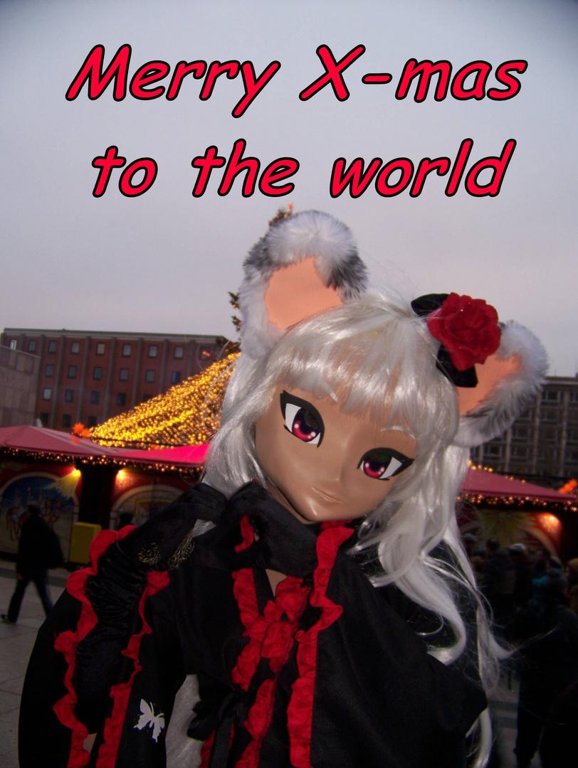 merry x-mas to the world