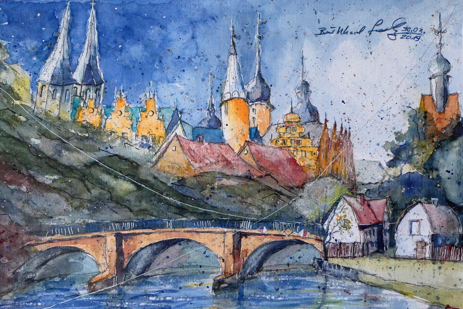 Merseburg an der Saale: Der Dom, das Schloss und St. Thomae