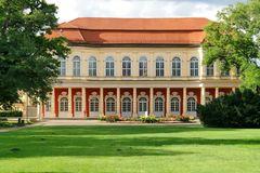 Merseburg (II) - Schlossgartensalon aus Sicht des Schlossparks