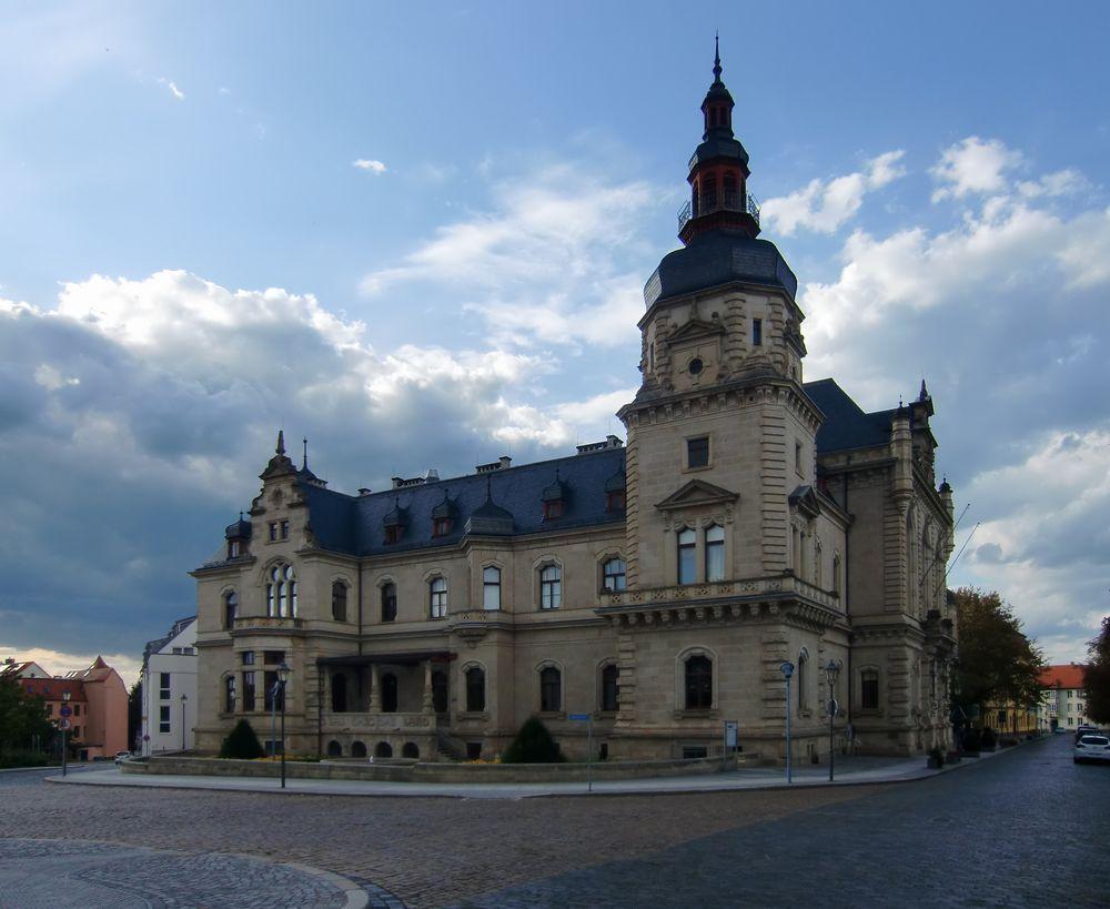 Merseburg (III) - Ständehaus (Westseite)