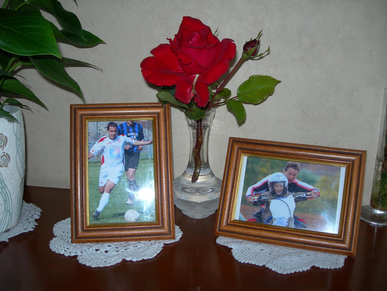 Mes enfants et mon amie la rose..............