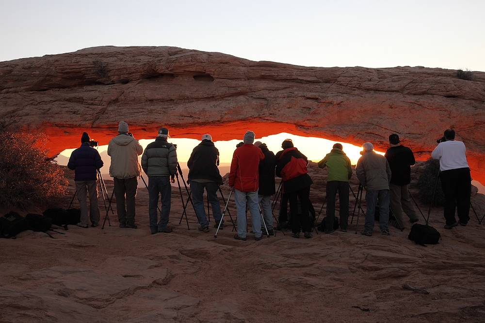Mesa Arch mal anders ;-)