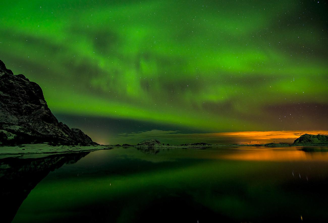 mesmerizing northern lights