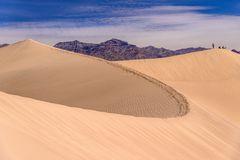 Mesquite Flat Sand Dunes, Death Valley, Kalifornien, USA