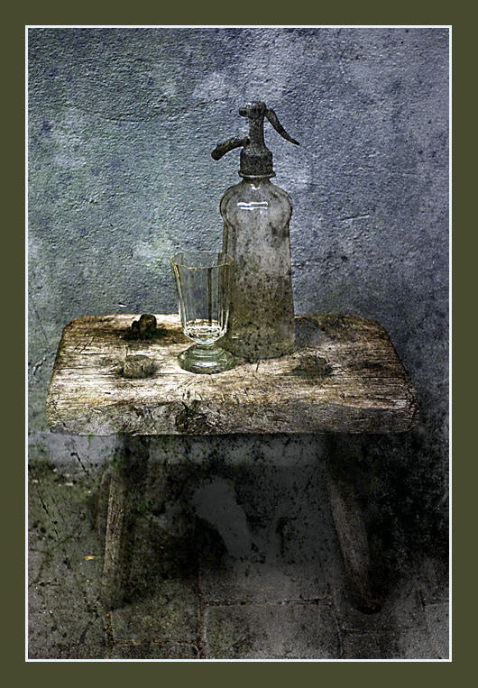 Message from the past (soda-water)