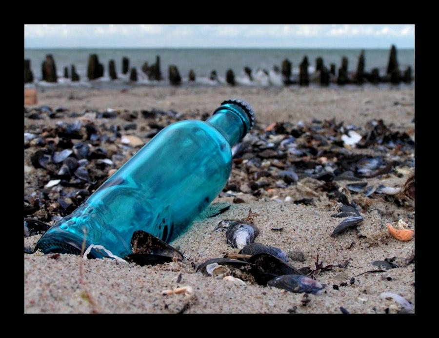 ... message in a bottle ...