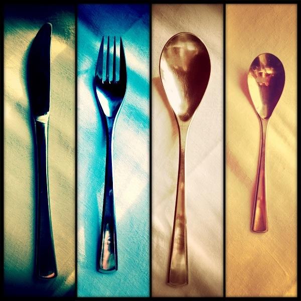 Messer Gabel ohne Schere ;)