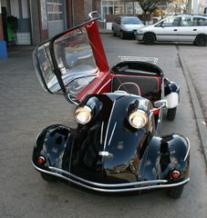 Messerschmitt Kabinenroller TG 500 - offen