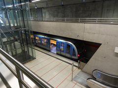 Messestadt Ost U2 München Endstation
