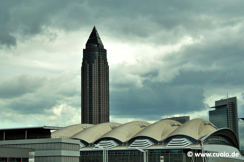 Messeturm & Messehalle 3