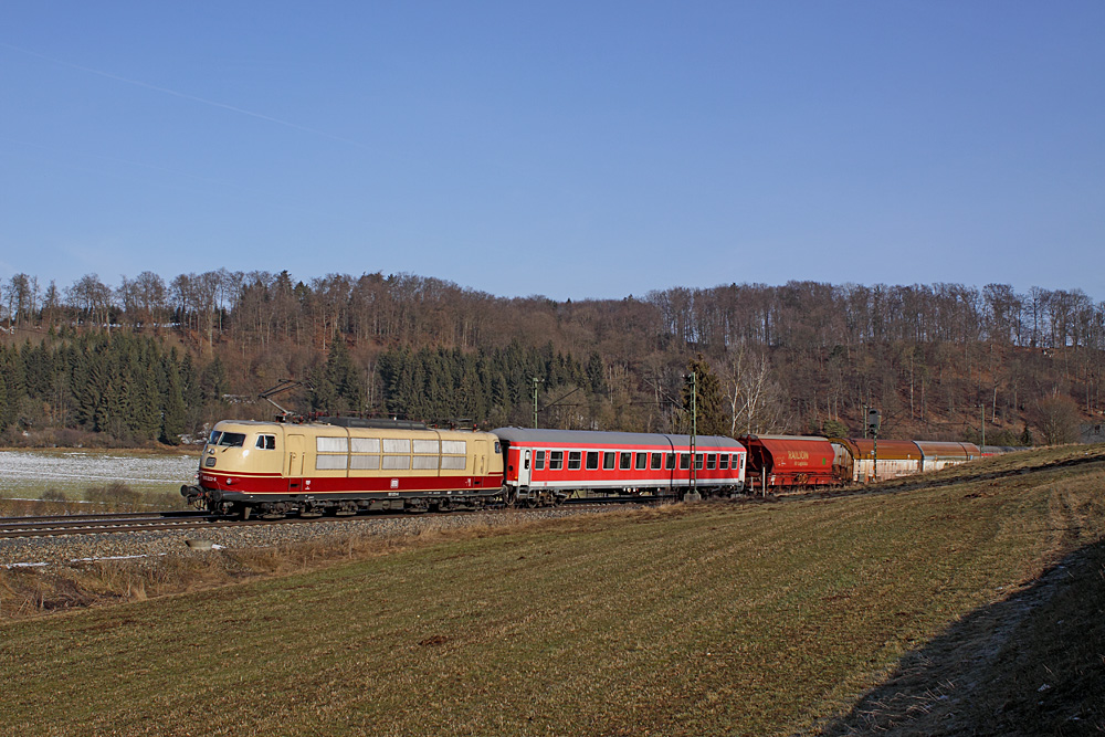Messfahrten auf der Geislinger Steige - Teil I