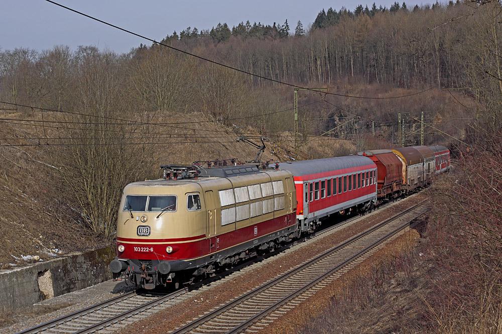 Messfahrten auf der Geislinger Steige - Teil II