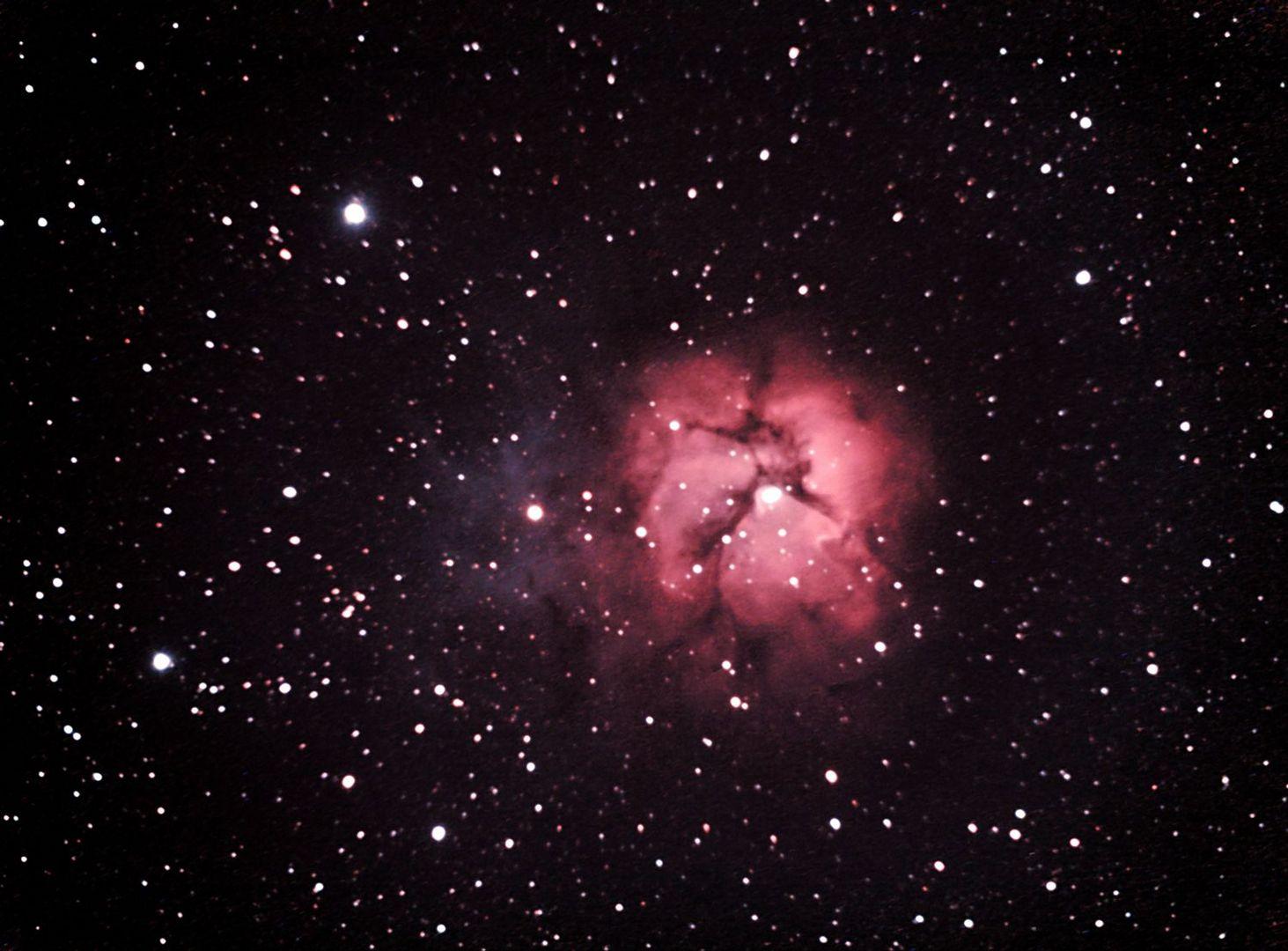Messier 20 Trifidnebel