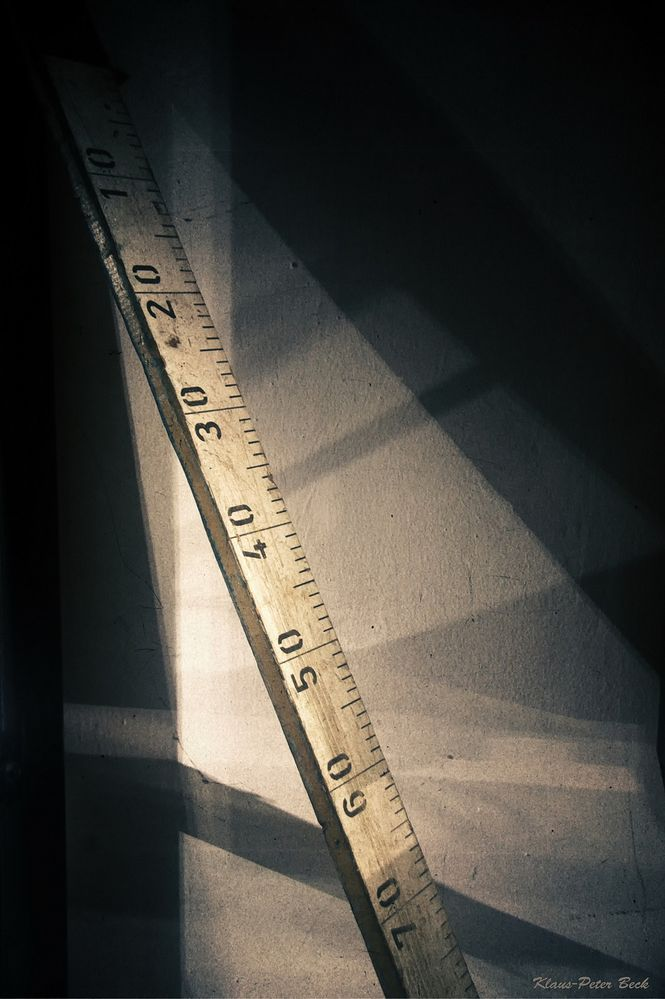Messlatte der Papiermacher