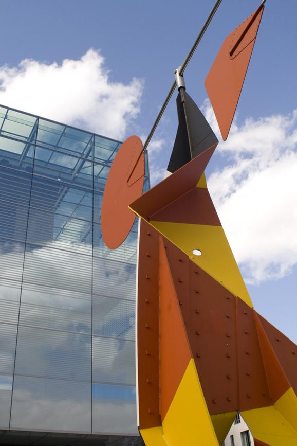 Metal and glass-Stuttgart