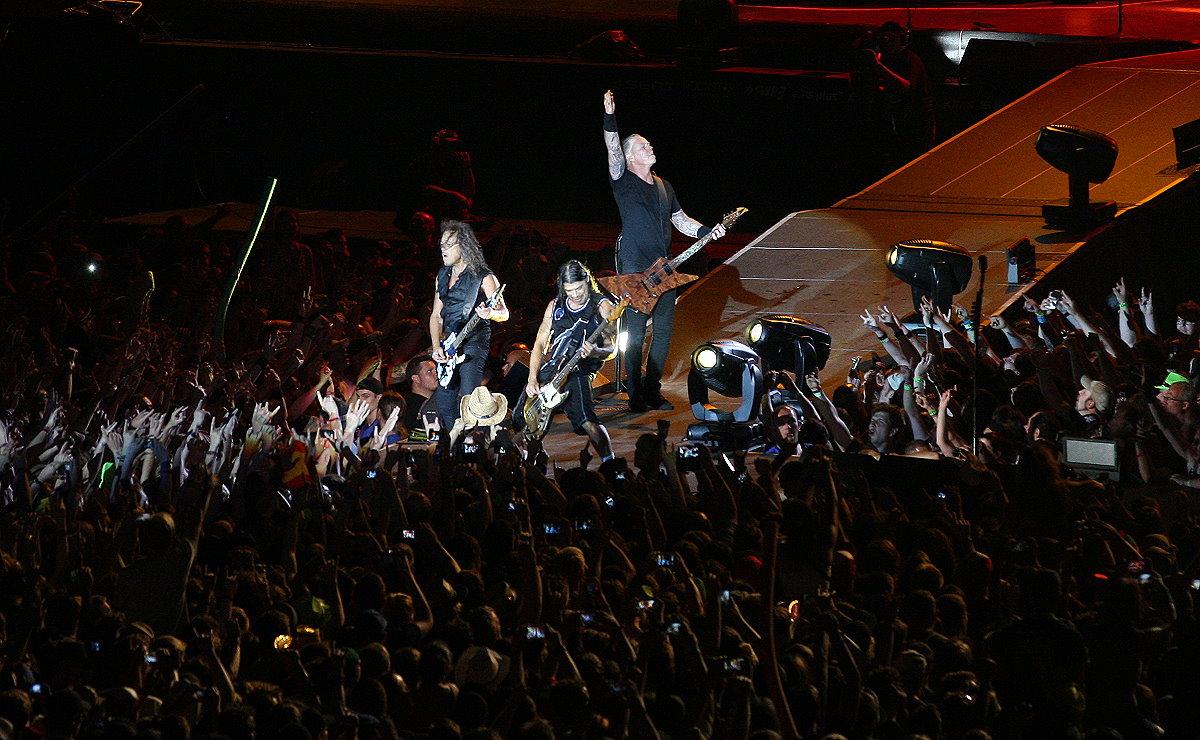 Metallica bei Rock am Ring 2014