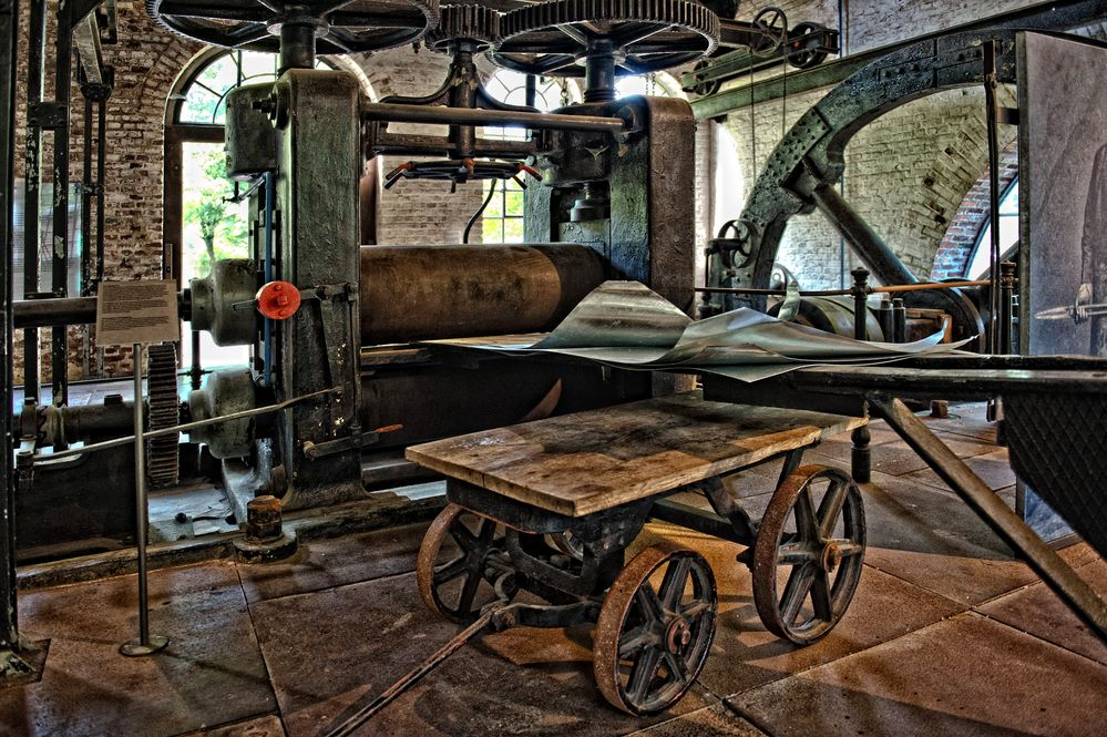 Metallwalze - Freilichtmuseum Hagen