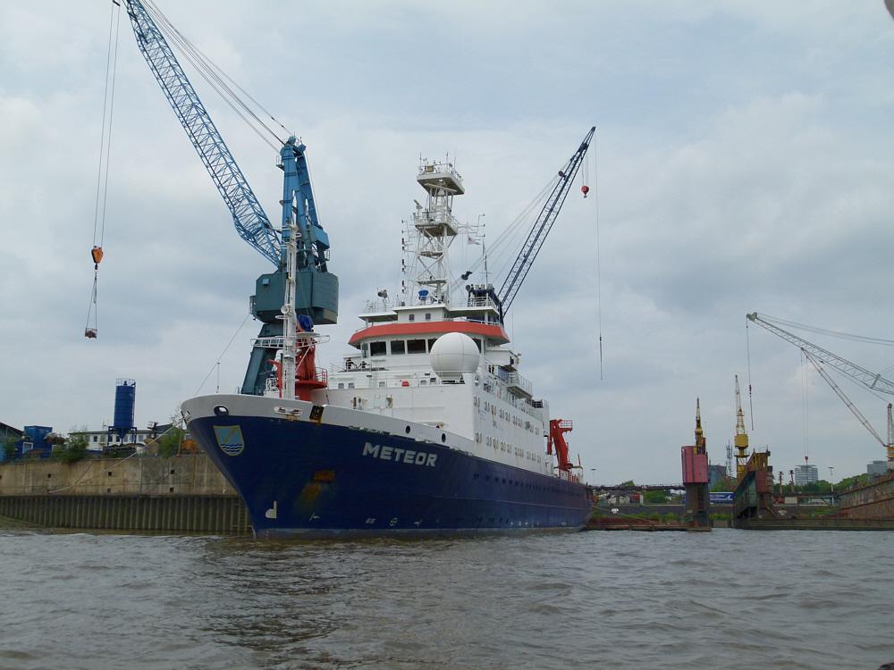 METEOR das Forschungsschiff