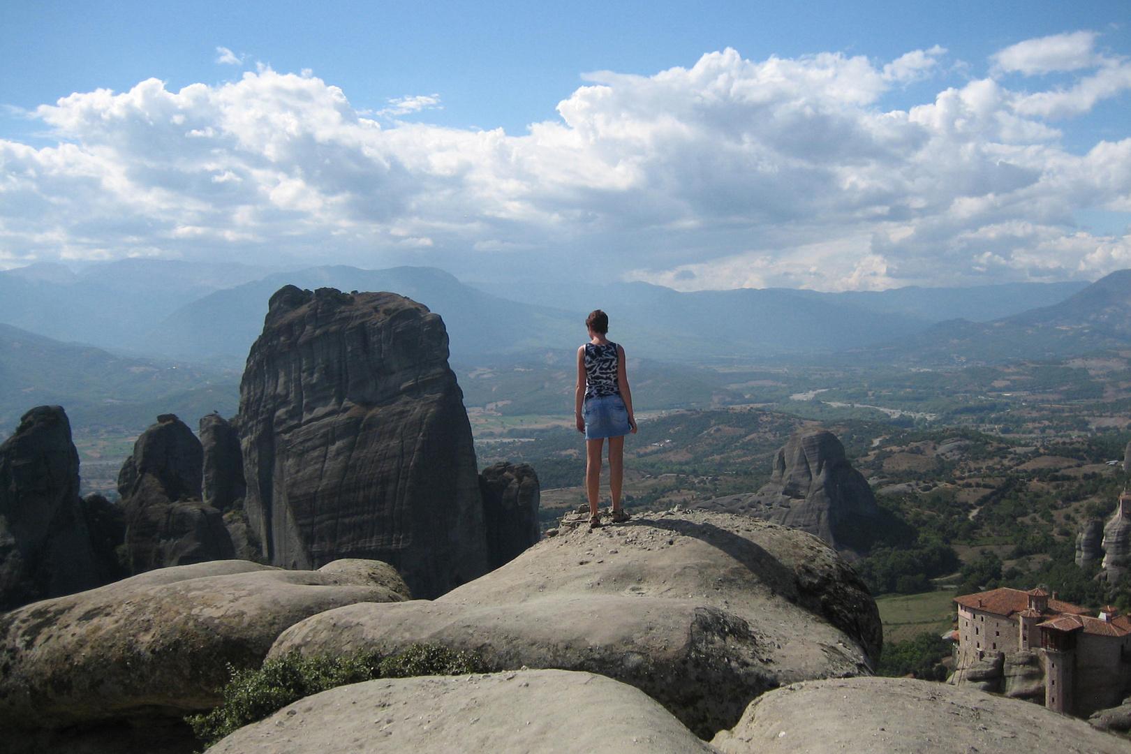 Meteora Klöster - nichts für höhenängstliche