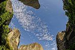 Meteora - von den Bergen umschlossen
