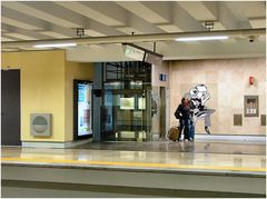 Metro , Aeroporto de  Lisboa