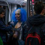 """"""" Metro hacia Gotham """""""