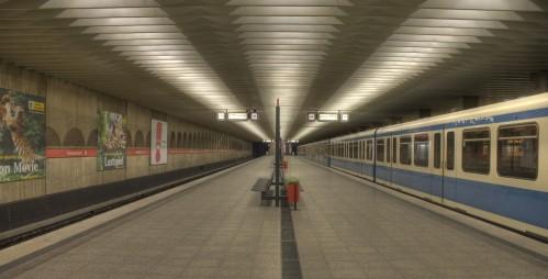 Metro in Munich