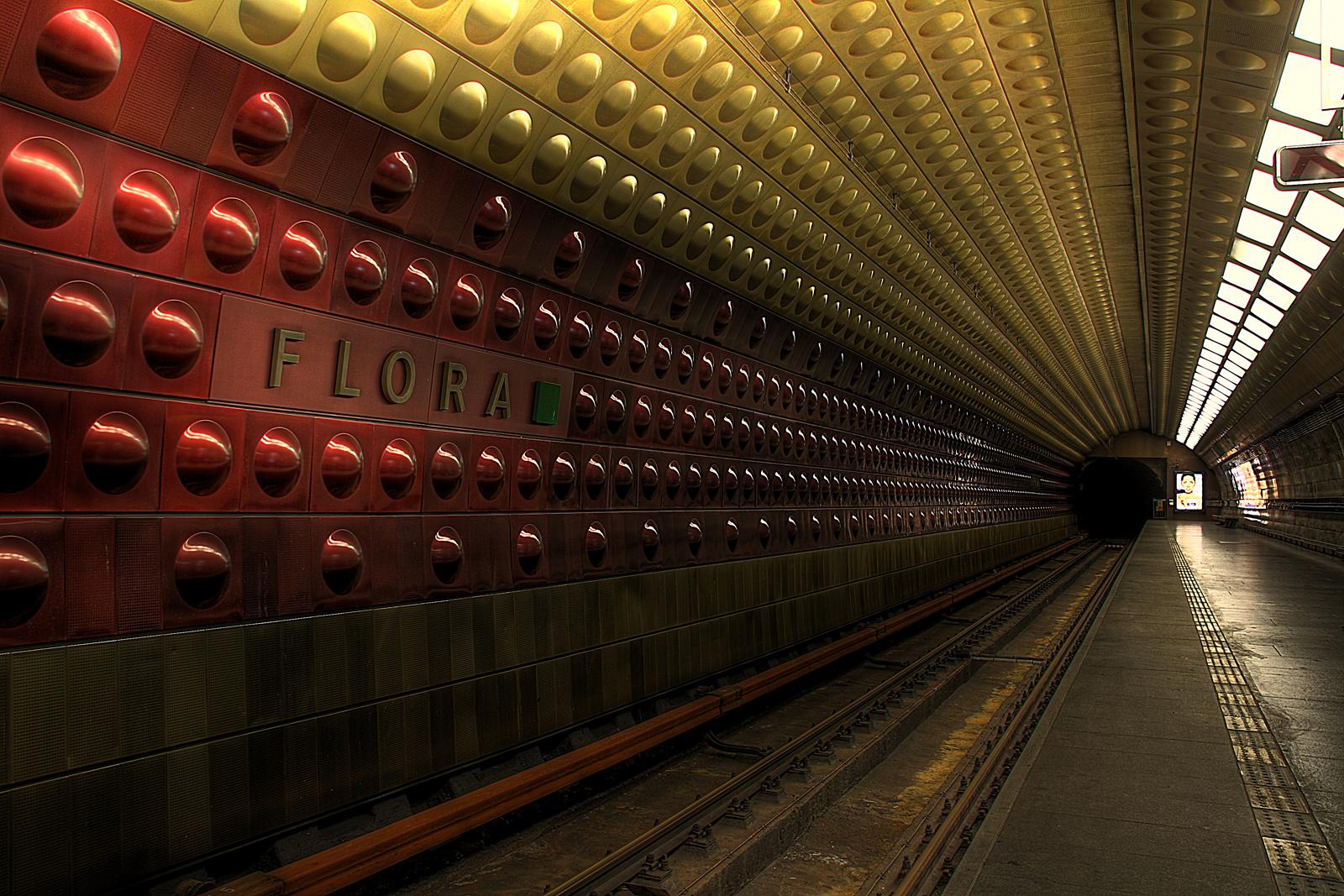 Metro in Prag 1/2