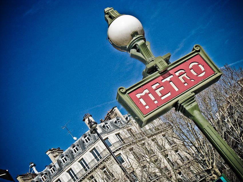"Metro Paris (""strange"" version)"