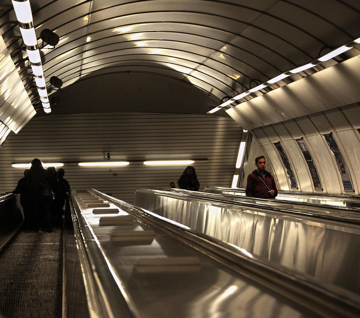 metro' praga