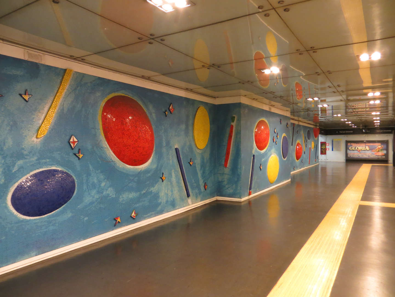 metro station in Naples
