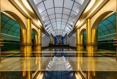 Metro Station in St. Petersburg