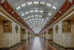 """Metro Station """"Narvskaya"""""""