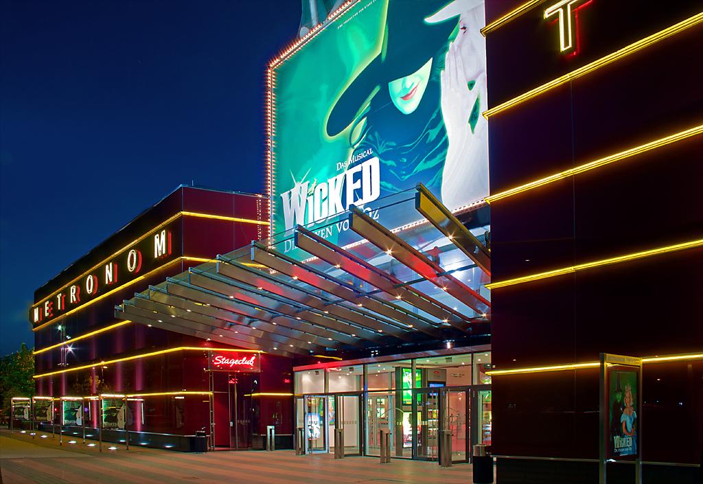 Metronom Theater am Centro - Haupteingang