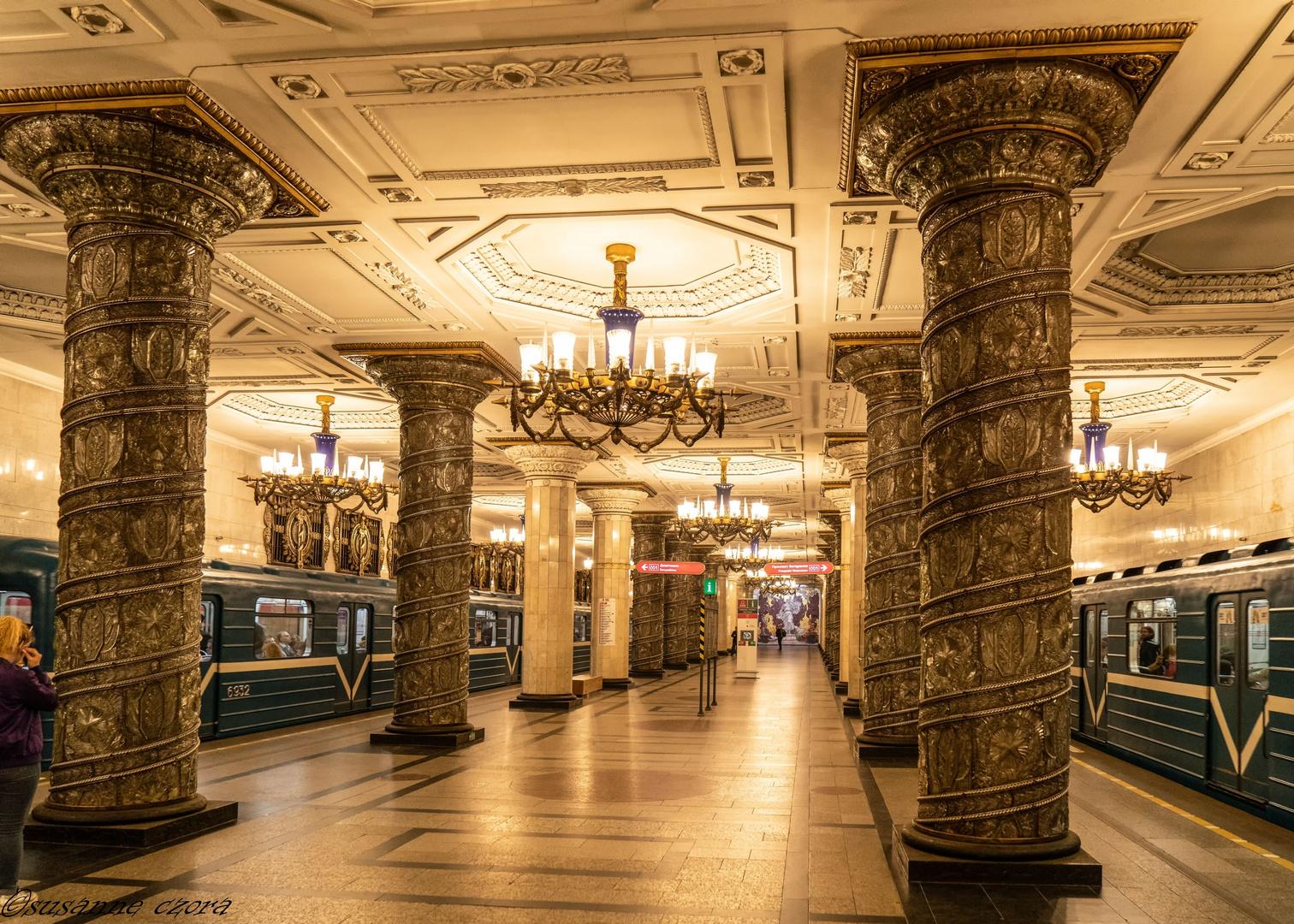 Metrostation Sankt Petersburg