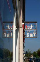 Metzgereischild in Kirkel-Neuhäusel/Saarland