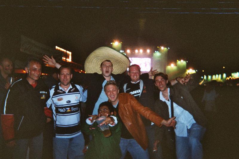 Mexico gegen Angola. Wahnsinn so viele freundliche Menschen.