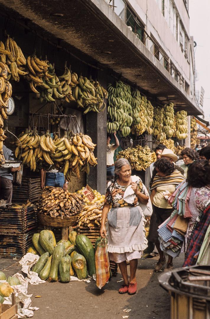 Mexico-Stadt: der Mercado La Merced