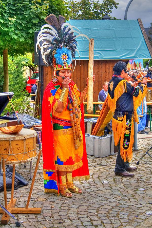 Mexikaner in Freyburg