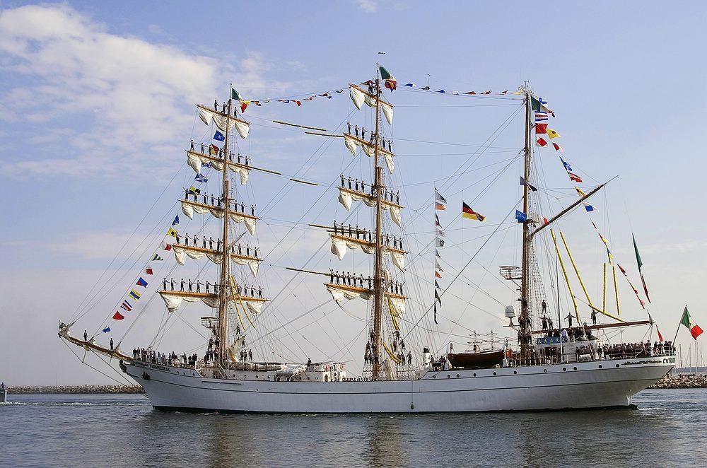 """Mexikanische Segelschulschiff """"Cuauhtemoc"""""""