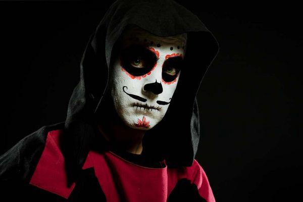 Mexikanische totenmaske fotos bilder auf fotocommunity - Mexikanische totenmaske name ...
