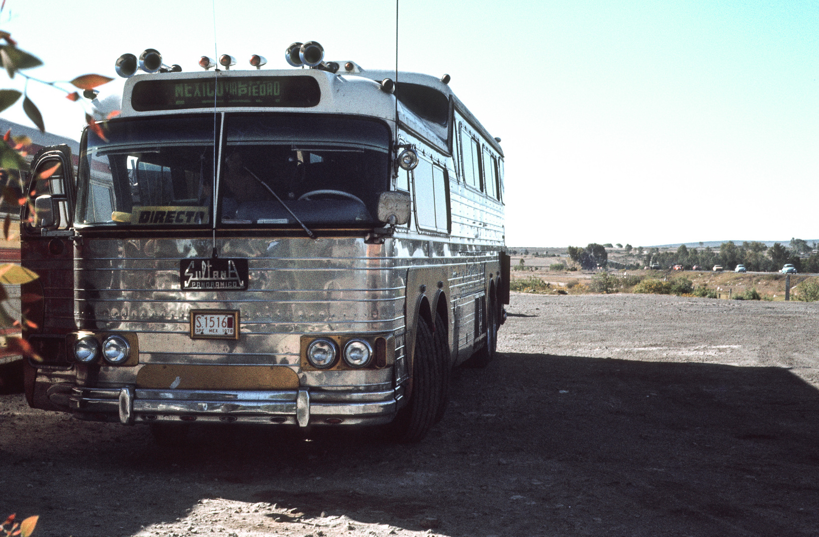 Mexikanischer Reisebus