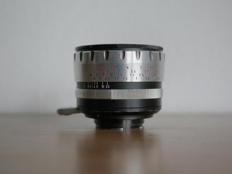 Meyer Görlitz Domiron f 2 / 50 mm, Exakta