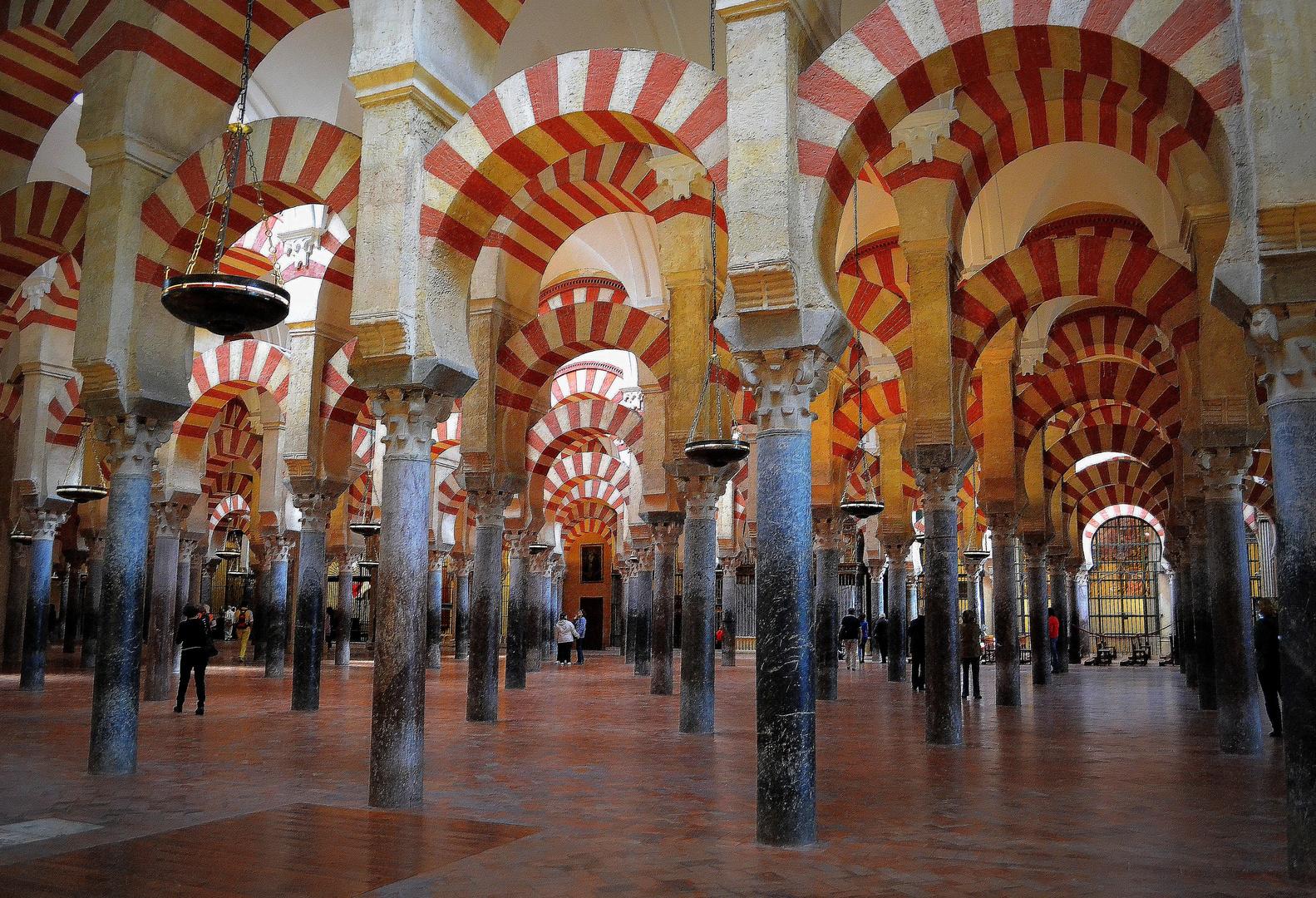 Mezquita de Córdoba (EXO N°388:Arches et colonnes)