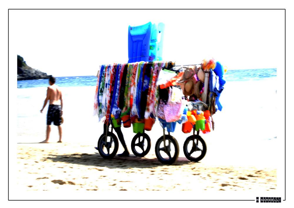 mezzo da spiaggia...