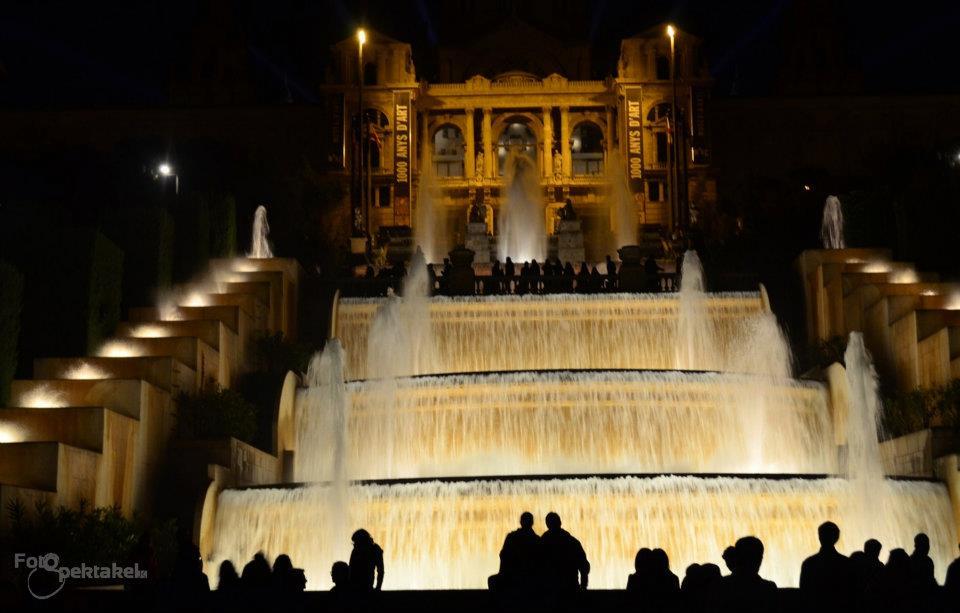 Brunnen Barcelona.Mgaischer Brunnen Barcelona Foto Bild Architektur