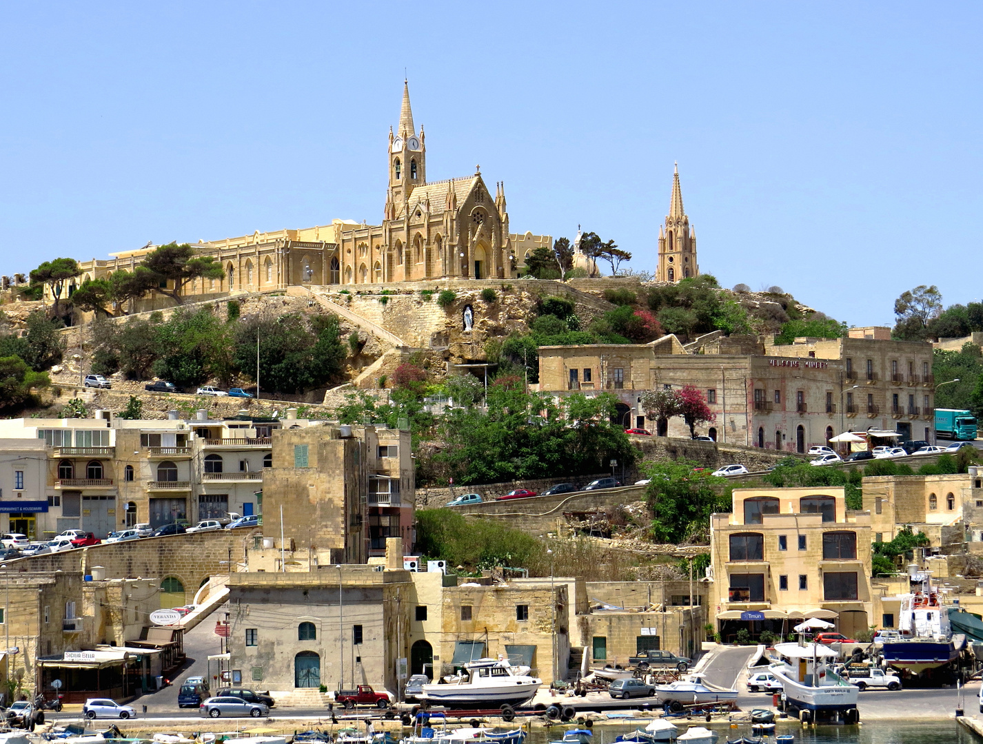 Mgarr - GOZO - Ferry Harbour