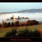 Mi affaccio e vedo la nebbia...